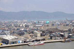 石巻・震災から一年の写真素材 [FYI03173617]