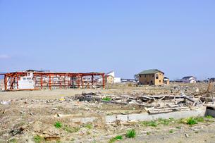 石巻・震災から一年の写真素材 [FYI03173622]