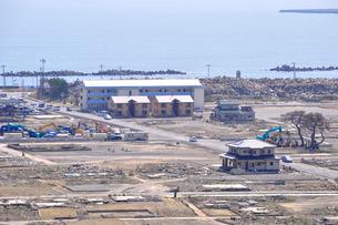 石巻・震災から一年の写真素材 [FYI03173623]
