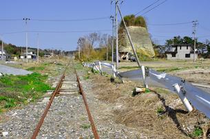 野蒜・震災から一年の写真素材 [FYI03173648]