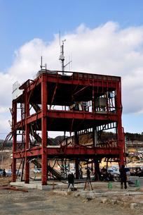 2013.3.11防災対策庁舎の写真素材 [FYI03173735]