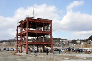 2013.3.11防災対策庁舎の写真素材 [FYI03173739]