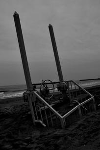 菖蒲田浜海岸にての写真素材 [FYI03173787]