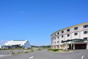 奥松島・被災した宿泊施設とレジャー施設の写真素材 [FYI03173973]