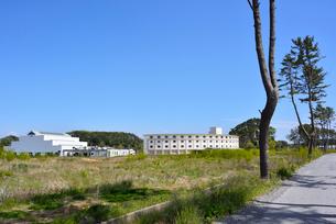 奥松島・被災した宿泊施設とレジャー施設の写真素材 [FYI03173975]