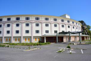 奥松島・被災した宿泊施設の写真素材 [FYI03173976]