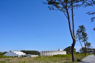 奥松島・被災した宿泊施設とレジャー施設の写真素材 [FYI03173978]