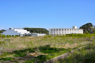 奥松島・被災した宿泊施設とレジャー施設の写真素材 [FYI03173979]
