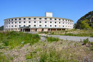 奥松島・被災した宿泊施設の写真素材 [FYI03173980]