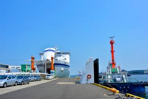 仙台港 フェリー乗船場の写真素材 [FYI03174851]