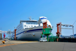 仙台港 フェリー乗船場の写真素材 [FYI03174888]