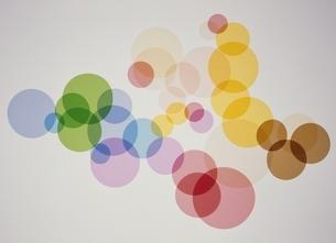 カラフルな円形のイラスト素材 [FYI03175198]