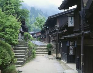 妻籠宿 木曽 長野県の写真素材 [FYI03175379]
