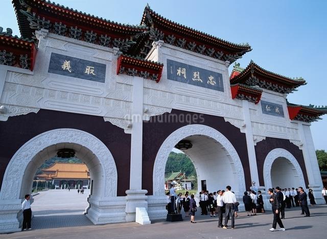 忠烈祠  台北 台湾の写真素材 [FYI03175581]