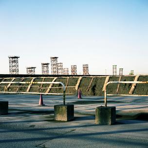 中央防波堤埋め立て処分場の写真素材 [FYI03176051]