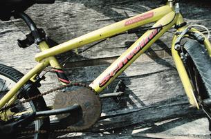 古いマウンテンバイクの写真素材 [FYI03176705]