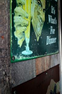 50年代のアメリカの宣伝看板の写真素材 [FYI03176890]