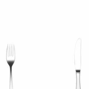 フォークとナイフの写真素材 [FYI03177078]