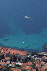アドリア海とドブロヴニクの街の写真素材 [FYI03177510]