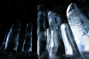 氷筍の写真素材 [FYI03177700]
