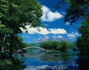 大沼公園から駒ケ岳  北海道の写真素材 [FYI03177841]