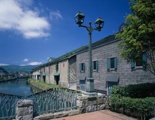 小樽運河   北海道の写真素材 [FYI03178144]