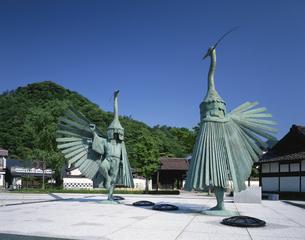 鷲舞像 津和野 島根県の写真素材 [FYI03178146]