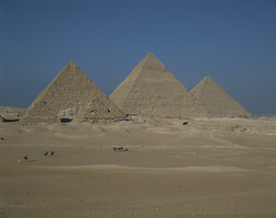 ピラミッド エジプトの写真素材 [FYI03178627]