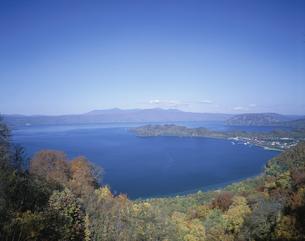十和田湖  秋田県の写真素材 [FYI03180049]