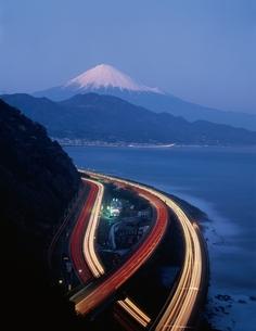 薩垂峠よりの富士山    静岡県の写真素材 [FYI03180050]