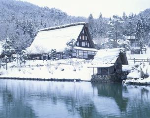 飛騨民俗村    高山市 岐阜県の写真素材 [FYI03180061]