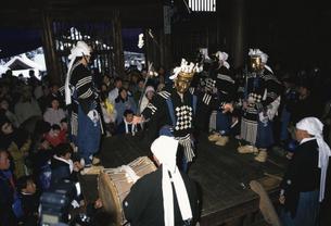 大日堂舞楽 鹿角市 秋田県の写真素材 [FYI03180105]