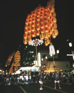 竿燈まつり 秋田県の写真素材 [FYI03180230]