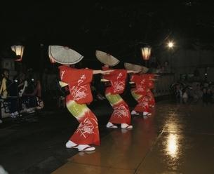 おわら風の盆の踊り手 八尾町 富山県の写真素材 [FYI03180257]
