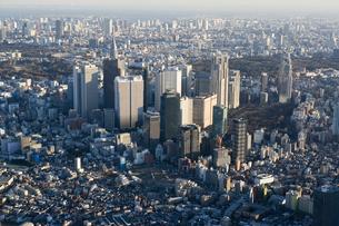 東京ビル群の写真素材 [FYI03180475]