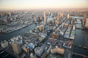 東京ビル群の写真素材 [FYI03180482]