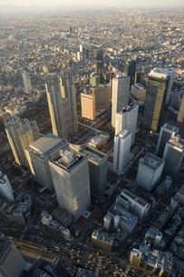 東京ビル群の写真素材 [FYI03180484]