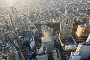 東京ビル群の写真素材 [FYI03180494]