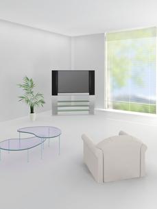 テレビとソファの写真素材 [FYI03180566]