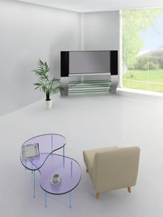 テレビとソファの写真素材 [FYI03180576]