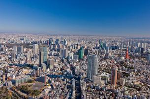 東京都心の街並みの写真素材 [FYI03180650]