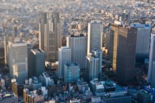 新宿高層ビル群の写真素材 [FYI03180682]