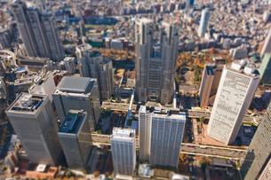 新宿高層ビル群の写真素材 [FYI03180690]
