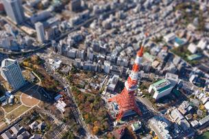 東京タワーの写真素材 [FYI03180691]