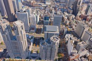 新宿ビル群の写真素材 [FYI03180710]