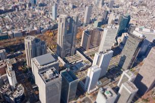 新宿ビル群の写真素材 [FYI03180714]