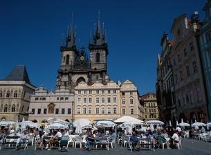 旧市街広場     プラハ チェコの写真素材 [FYI03181256]