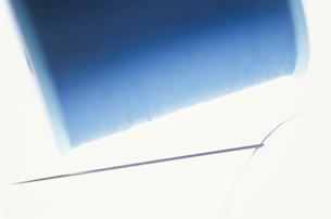 針と糸の写真素材 [FYI03181384]