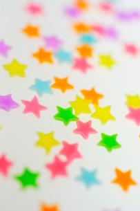 星形の砂糖菓子の写真素材 [FYI03182021]