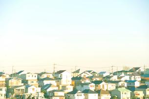 住宅の家並みの写真素材 [FYI03182476]